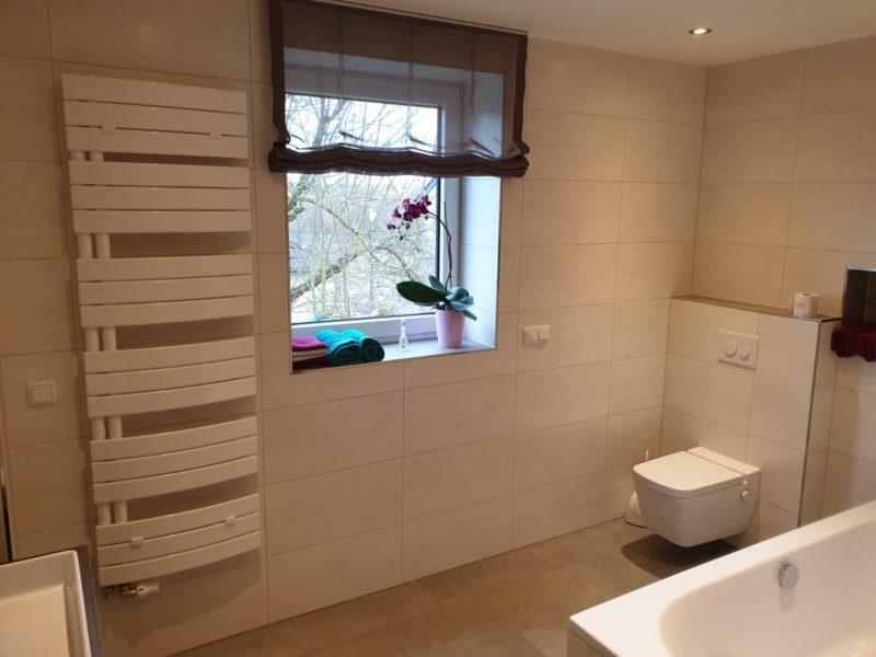 Badsanierung modernisiert
