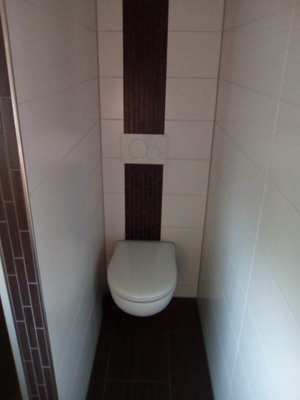 Badsanierung mit Toilette